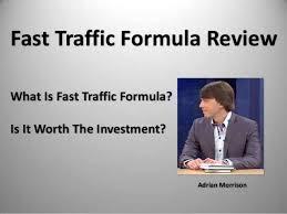 Fast Traffic Formula